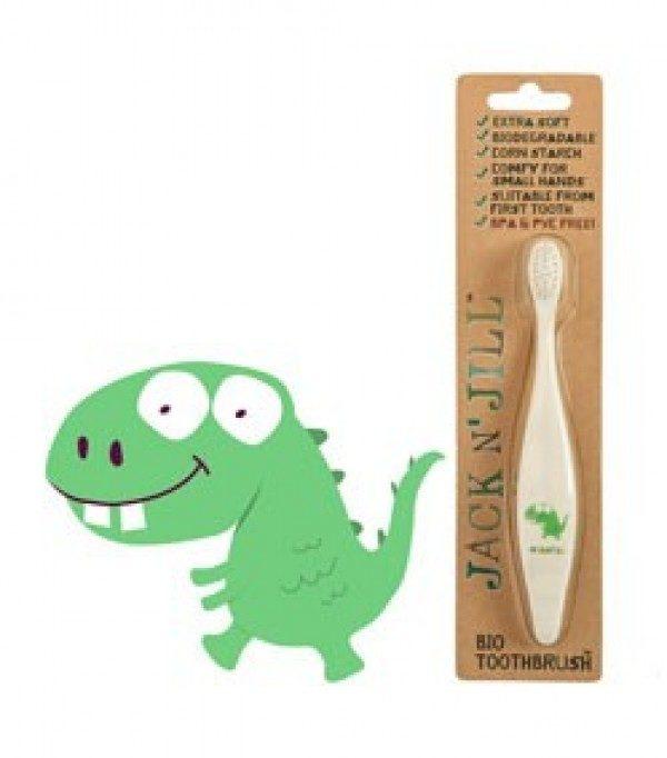 Dino bioloogiliselt lagunev Jack'N Jill hambahari lastele
