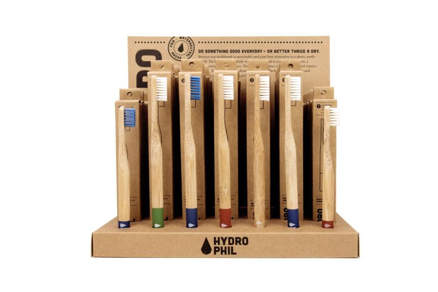 Hydrophil bambusest hambaharjad