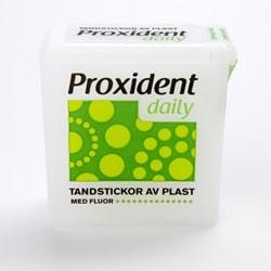 Proxident plastikust hambatikud fluoriidiga